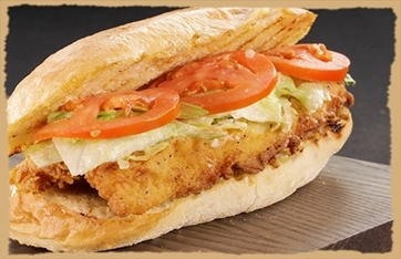 Picture of Lake Perch Sandwich