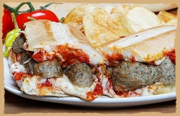 Picture of Meatball Melt